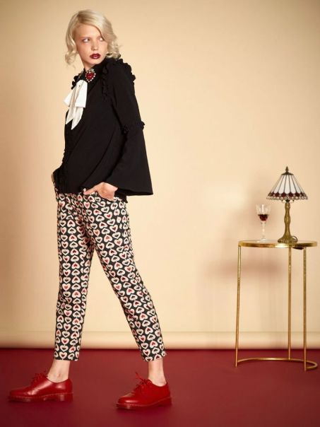 queen of hearts trousers